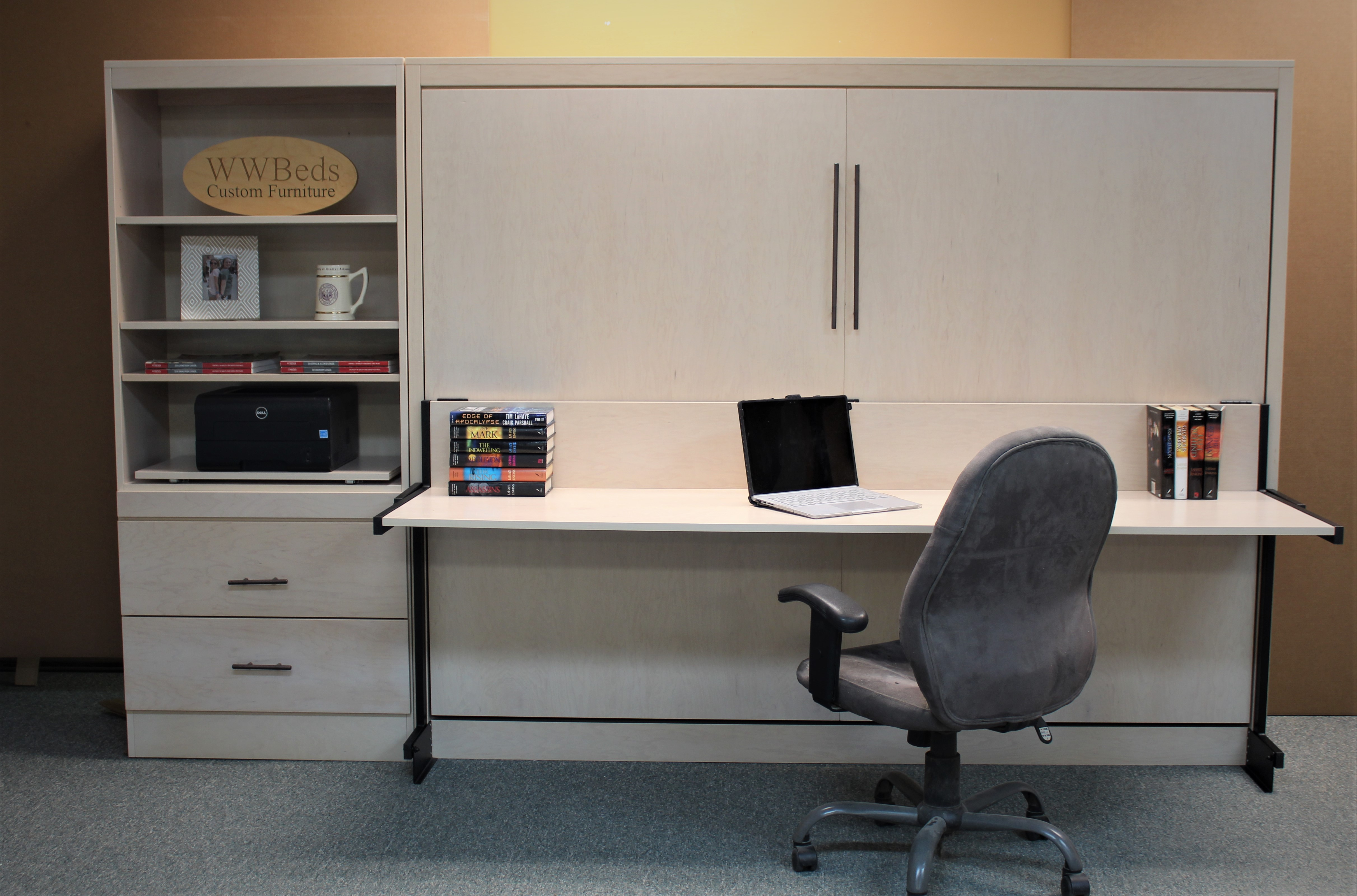 Horizontal Desk Closed Front