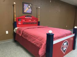 Phillies Baseball Bed