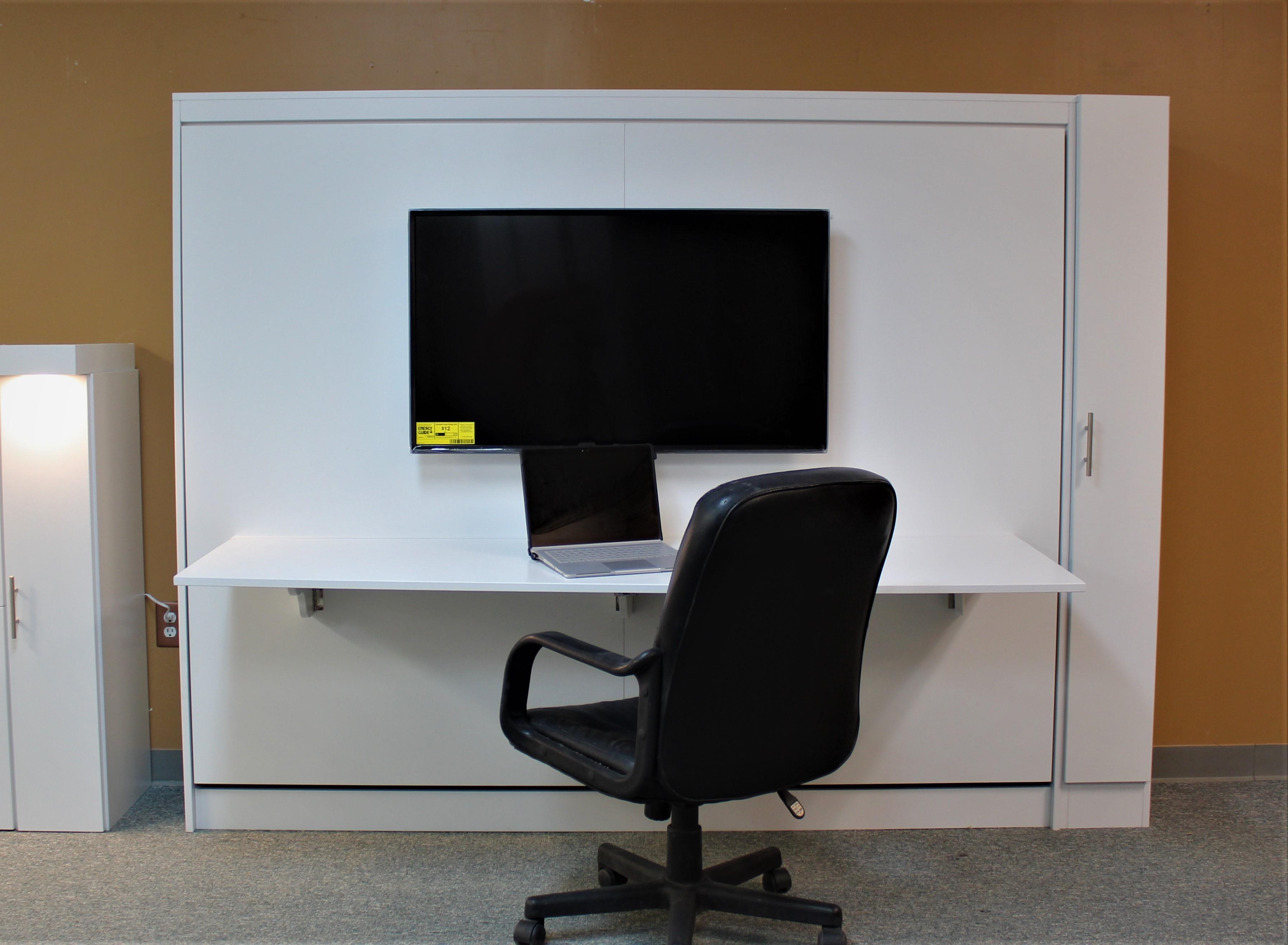 TV Murphy Desk Open