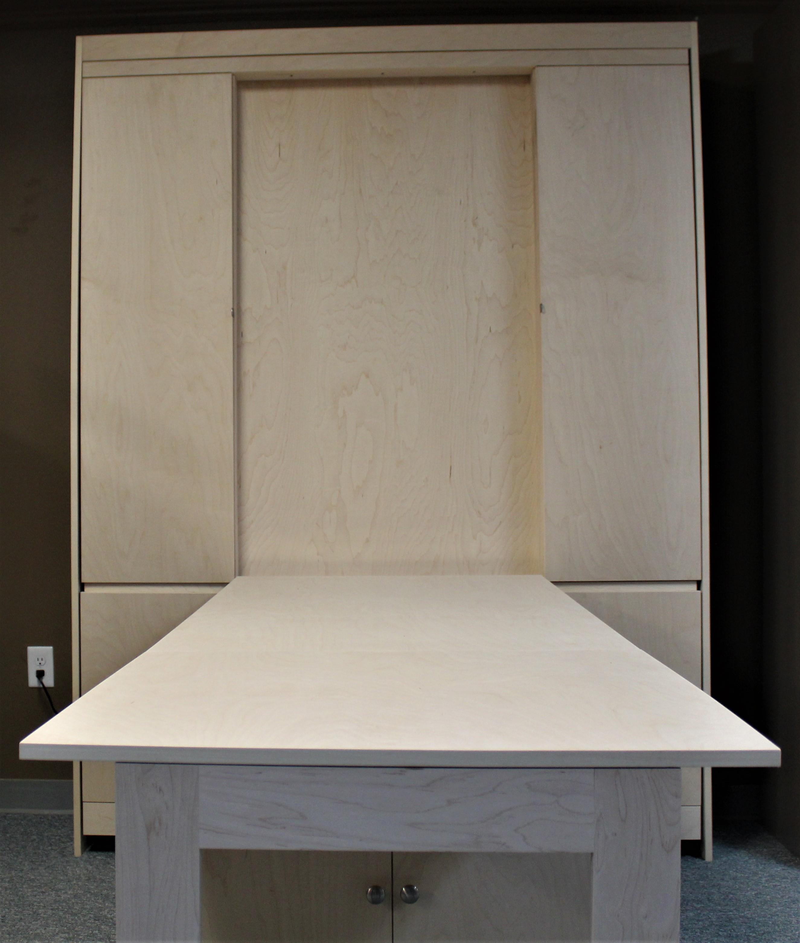 Murphy bed #131-0418 Desk Front