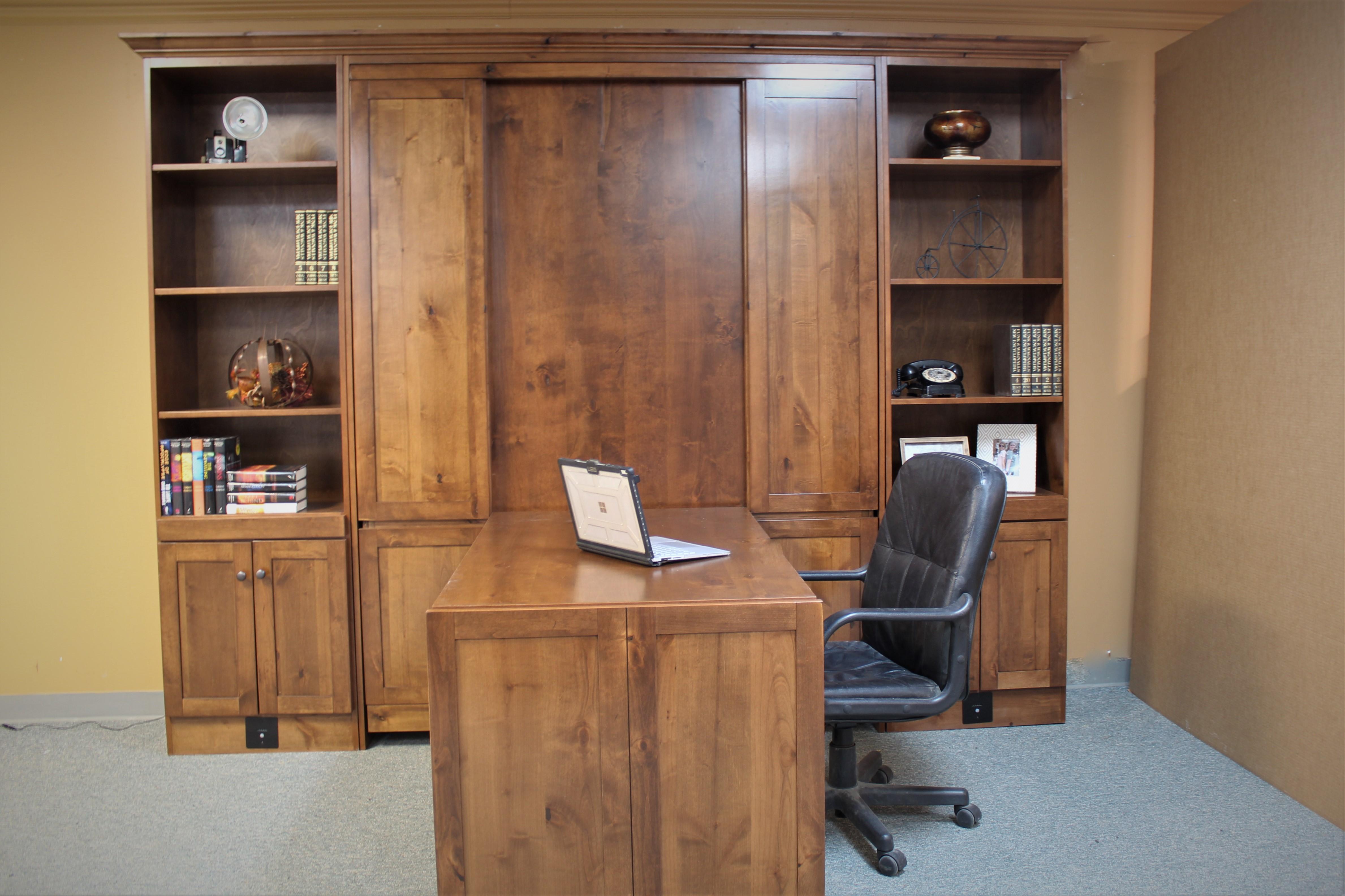Alder Craftsman Desk 2