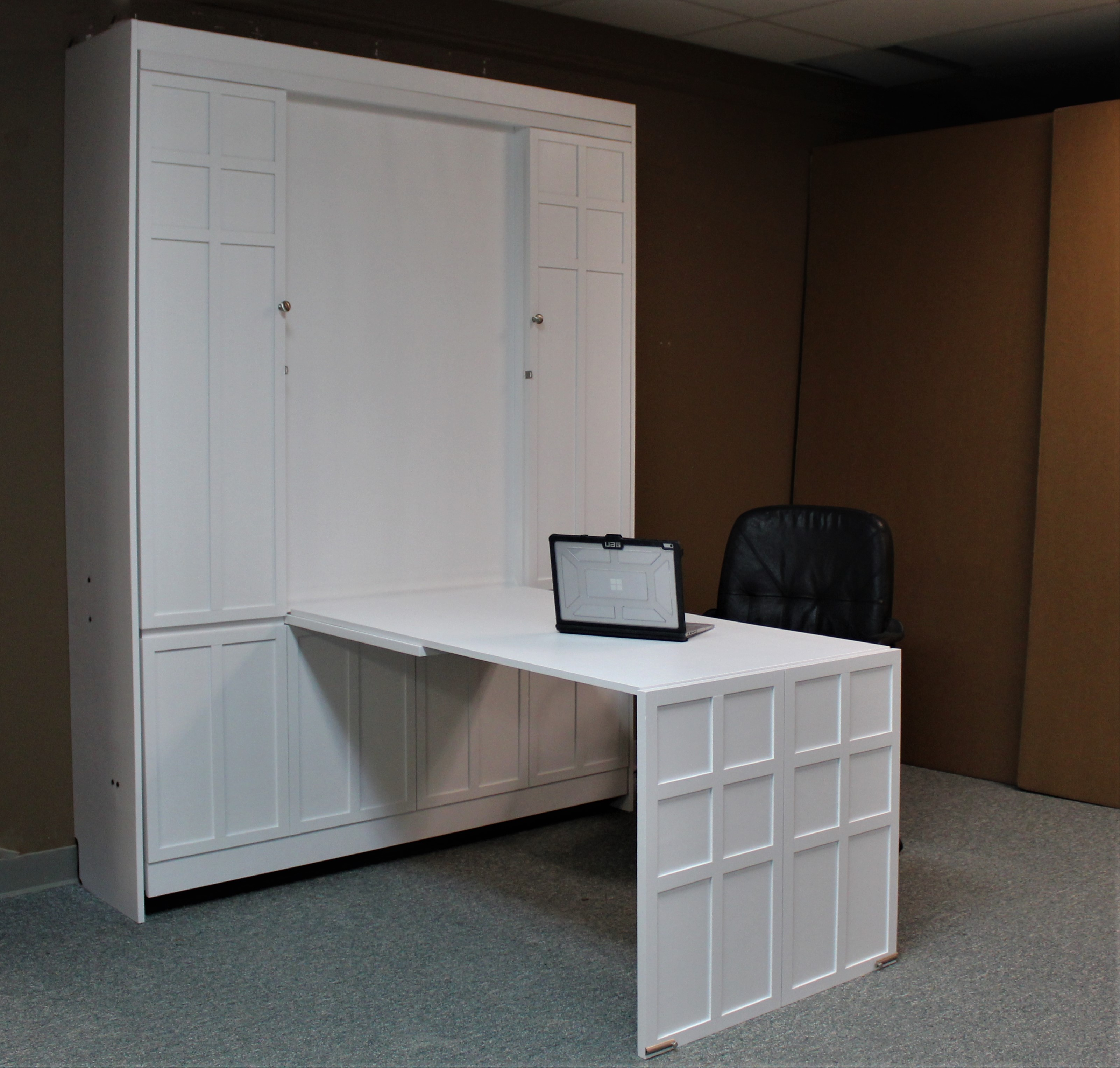FLW White Desk