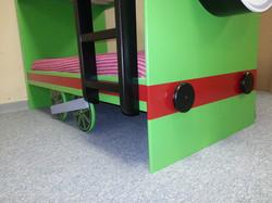 Percy bunk wheels