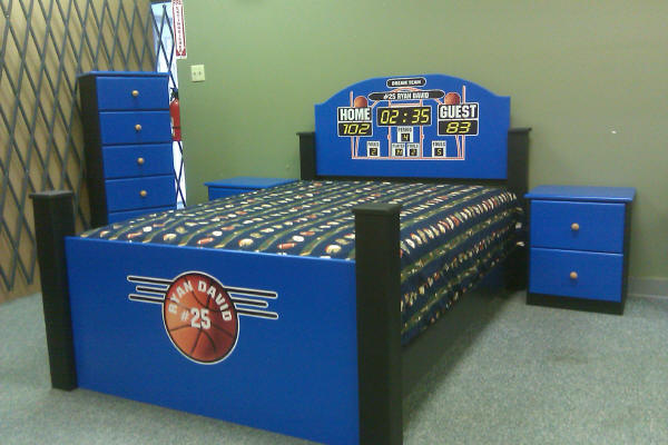Basketball Bed