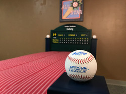 Baseball Trundle Bed Post