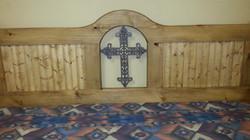 Rustic Cross bed