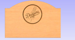 Los Angeles Dodgers Headboard