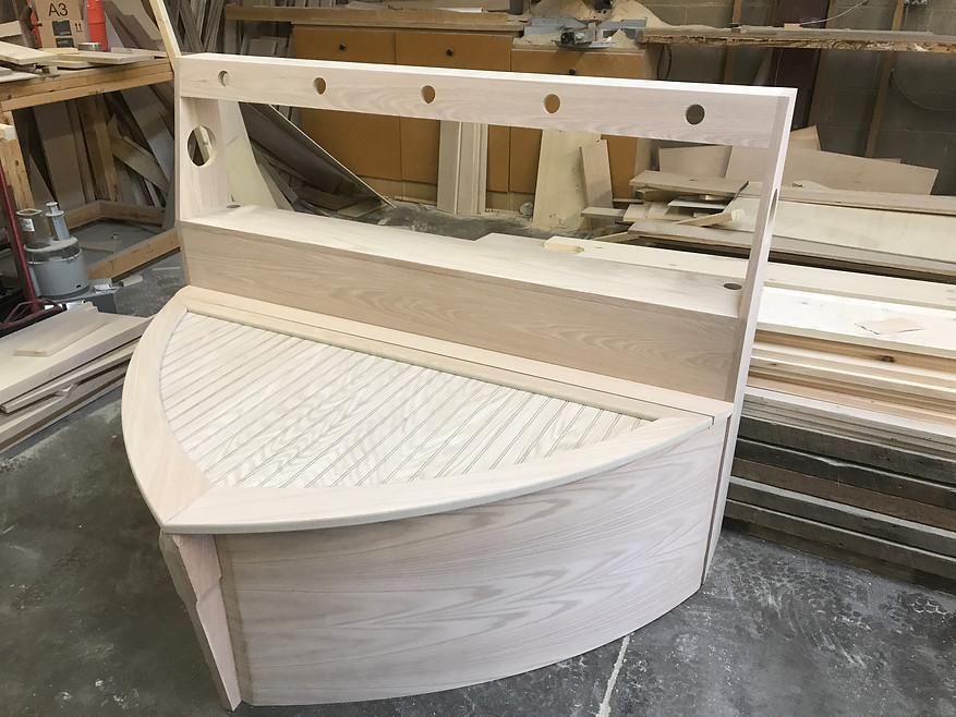 Building boat bed