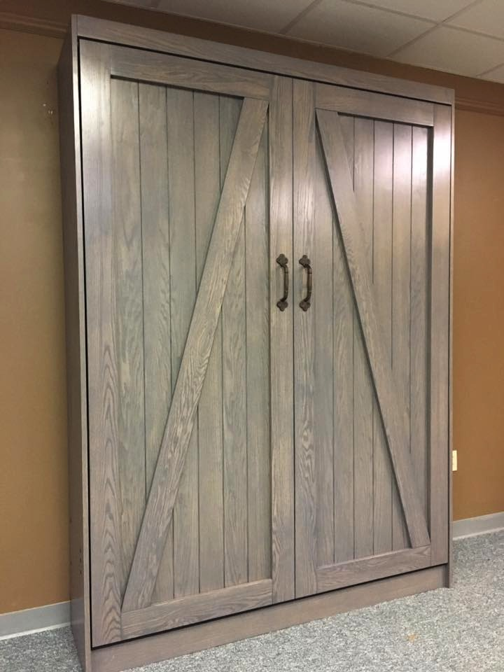 Barn Door Murphy bed Closed