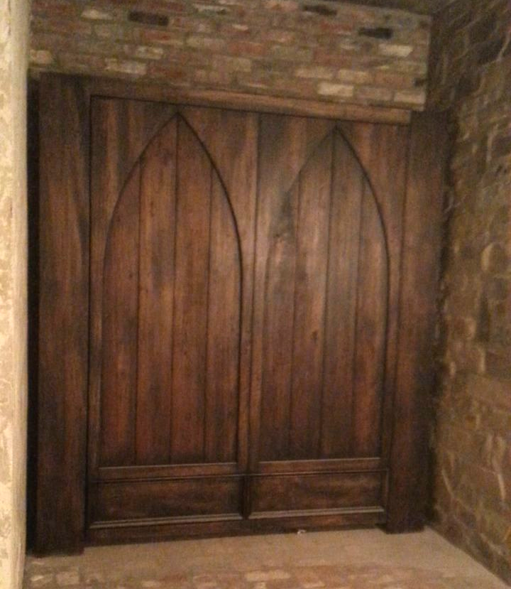 Gothic Arch Murphy Bed Closed