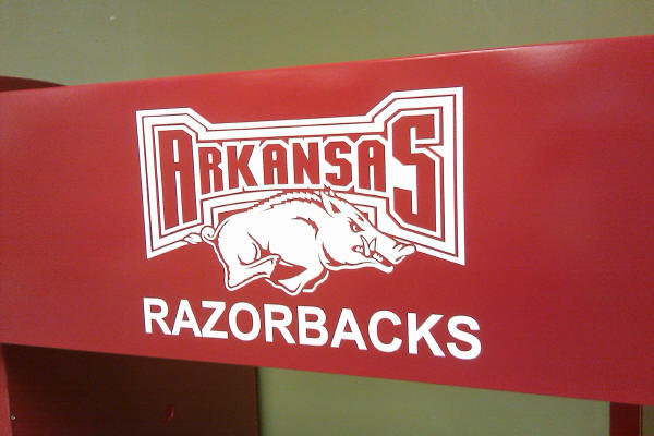 Razorback Sticker