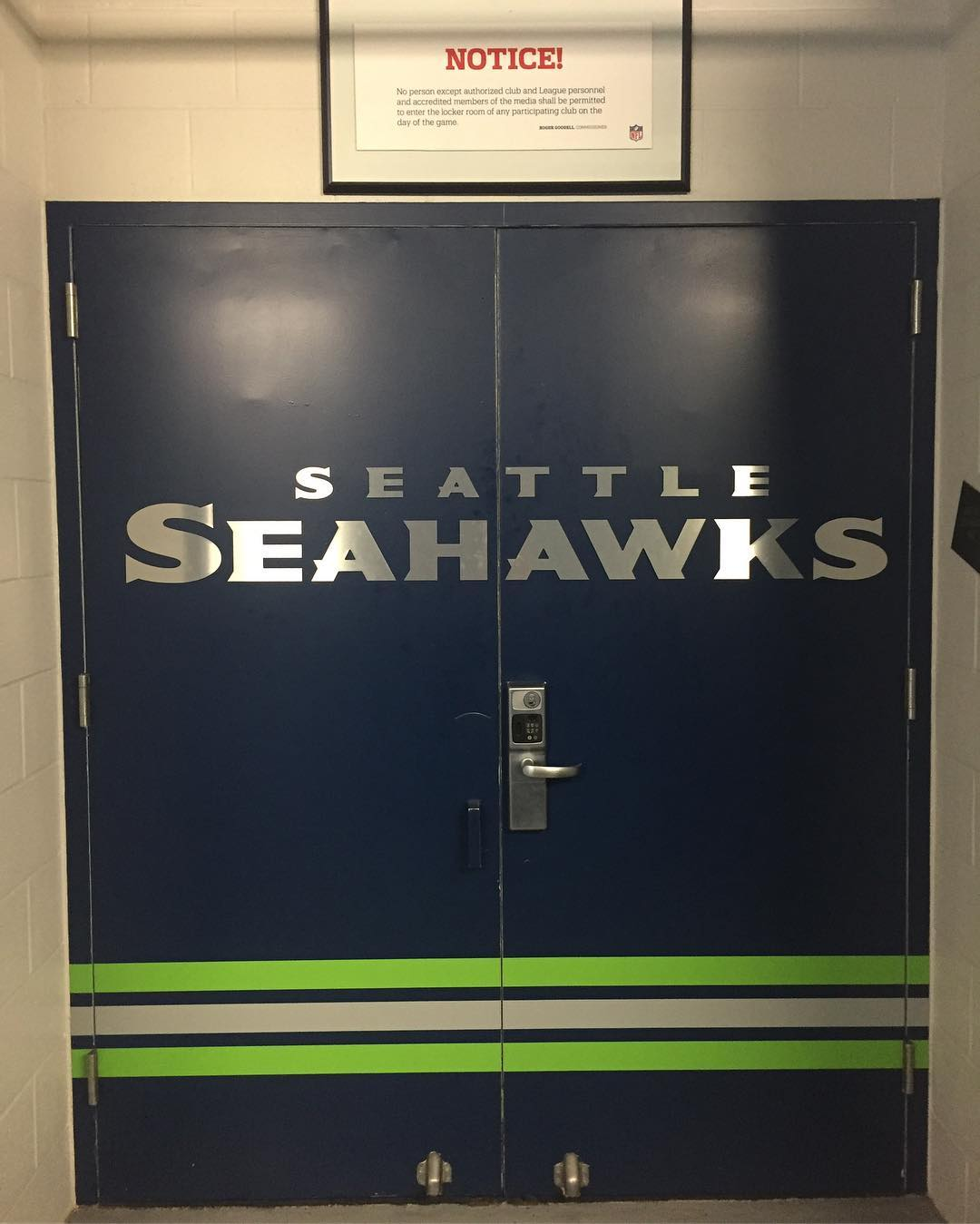 Seahawks door