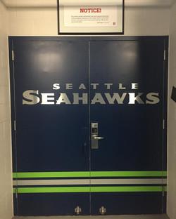 Seahawks door