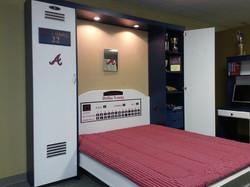 Atlanta Braves Locker open