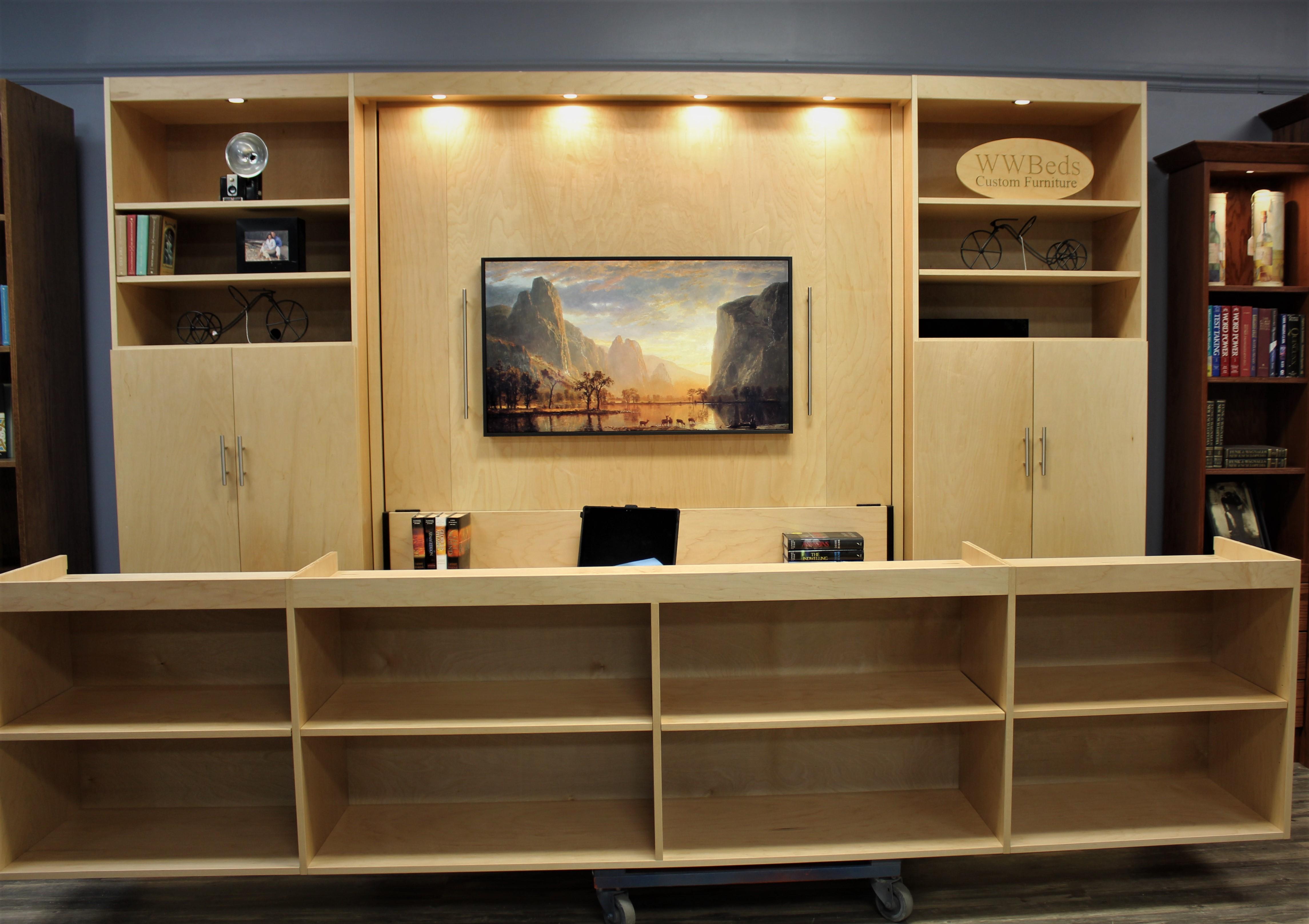 TV Murphy Upper Cabinets