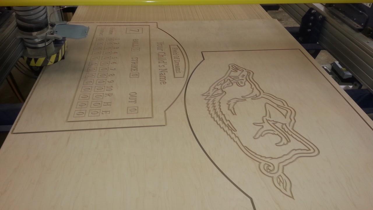 CNC cutout