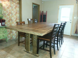 Another view of table