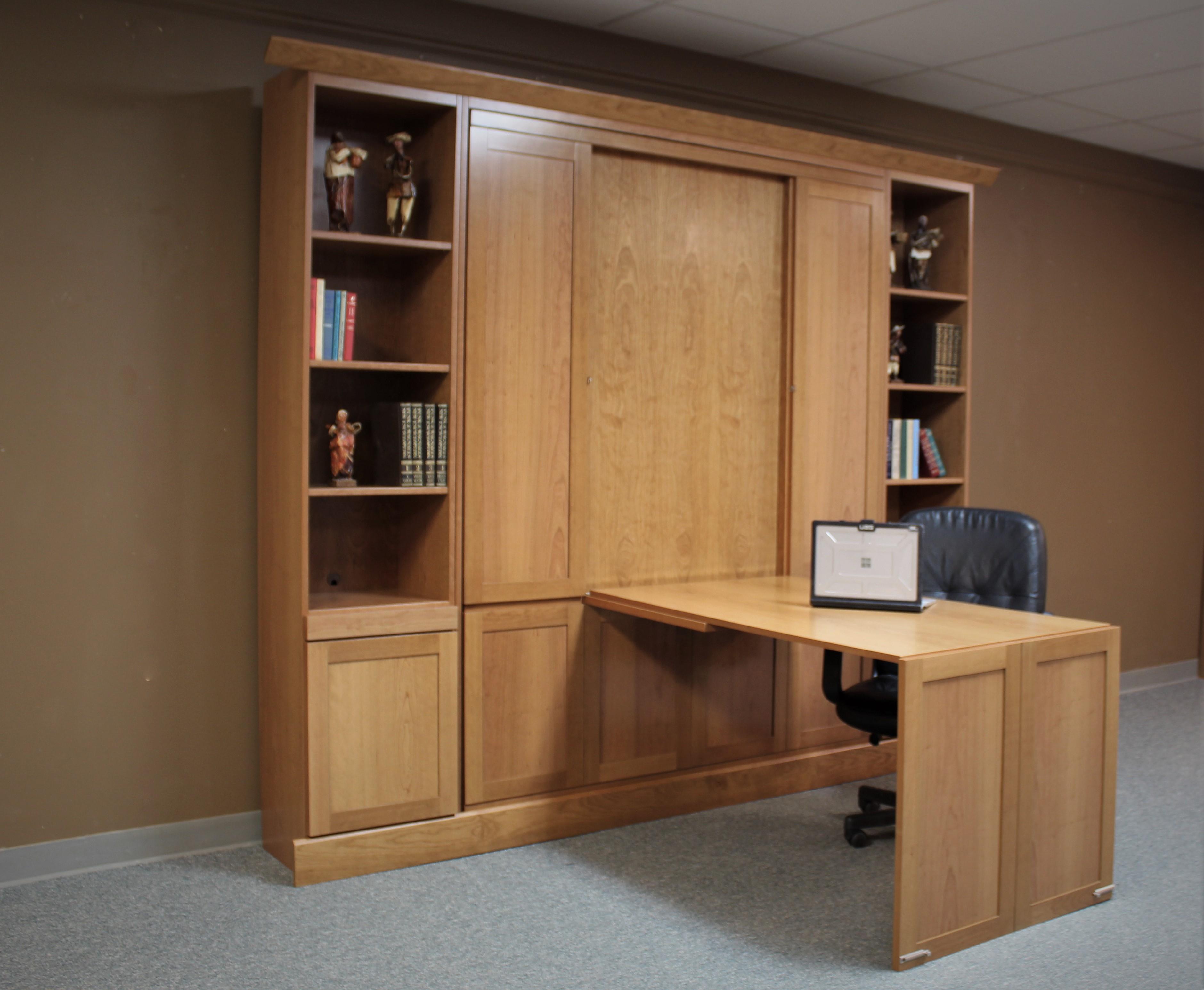Cherry Craftsman Desk Side