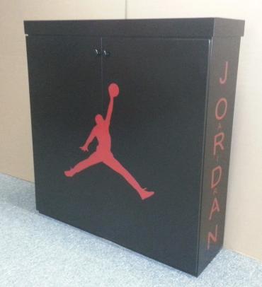 Jordan Shoe Cabinet Side