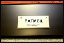 Batman Plate