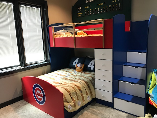 Cubs Bunk Bed 2