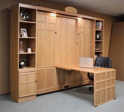 134-0721b side view open desk