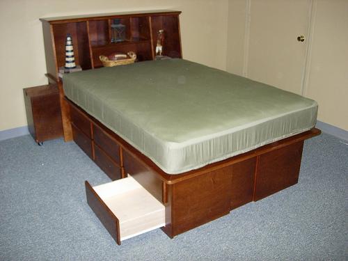 Storage Platform Brown Maple