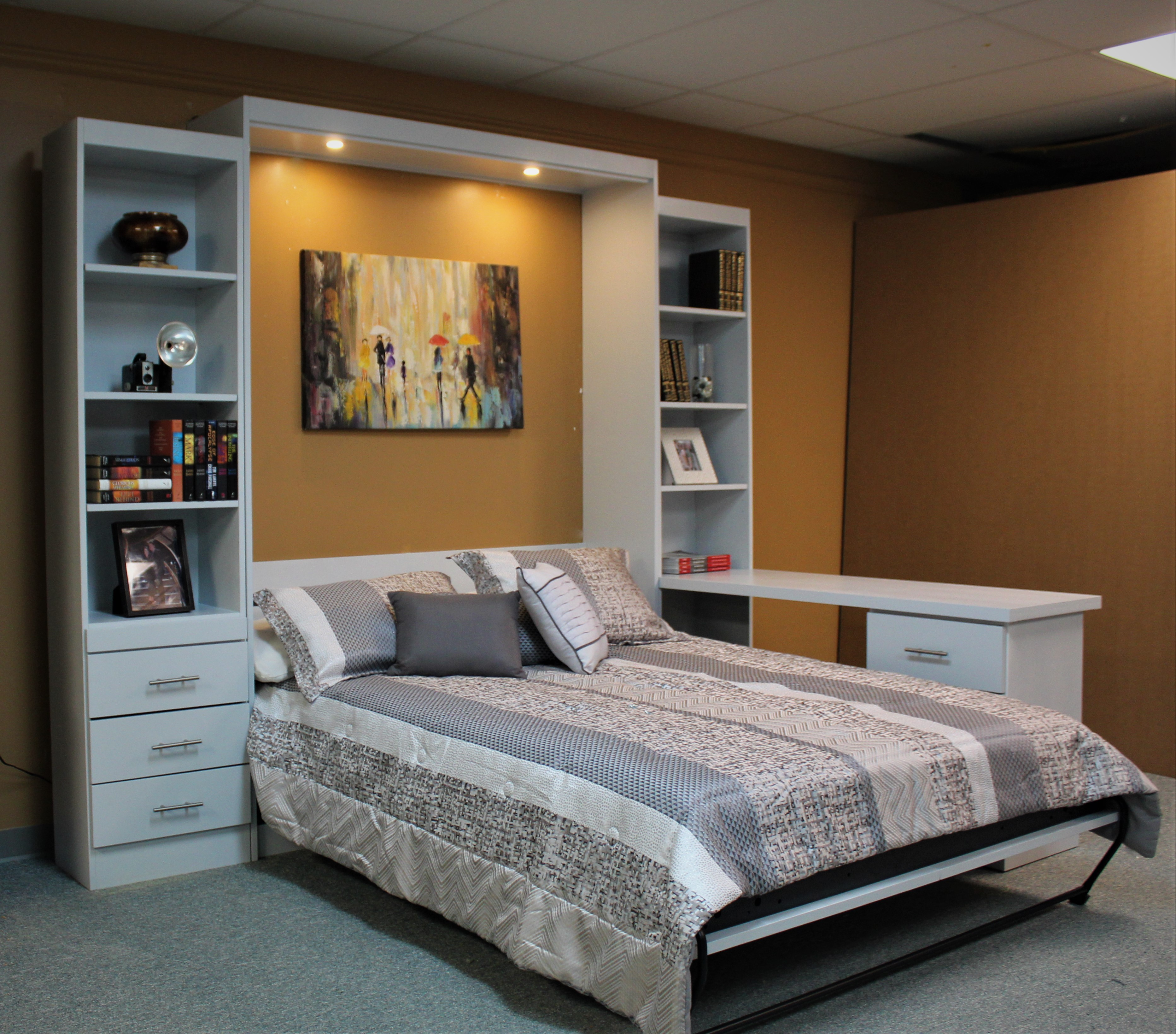 Emberling Murphy Wall bed Open