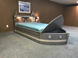Weathered Boat Bed Full
