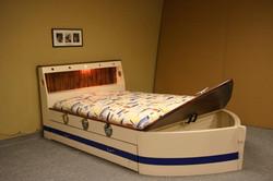Standard Boat bed White/Blue