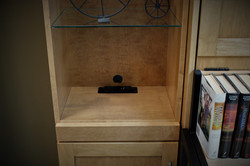 Charging station in Bookcase