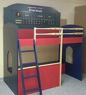 Baseball theme bunk
