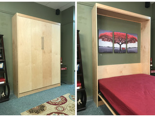 Contemporary Murphy bed | Alpine
