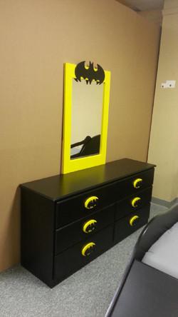 Batman Dresser and Mirror