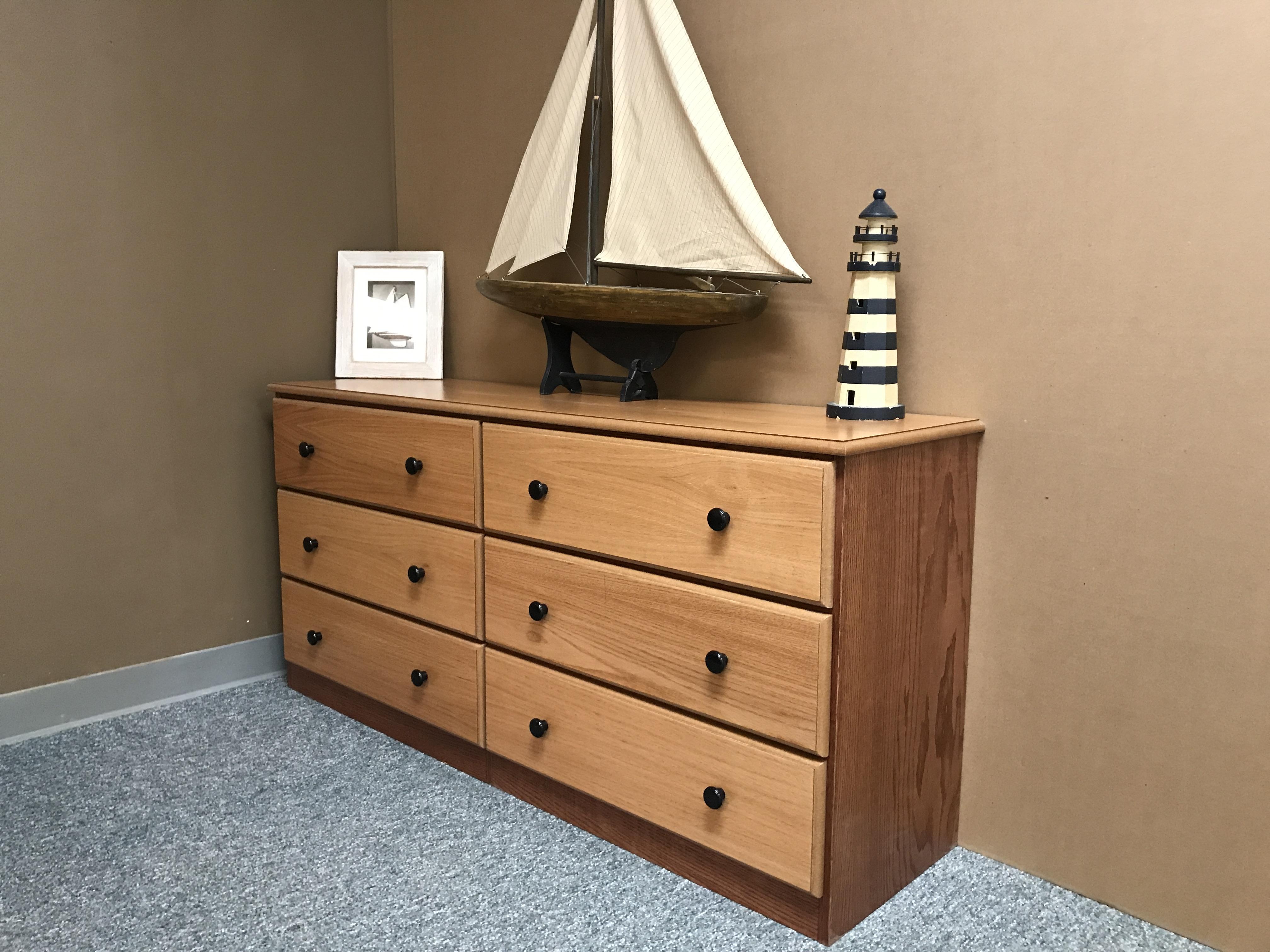Oak Boat Dresser
