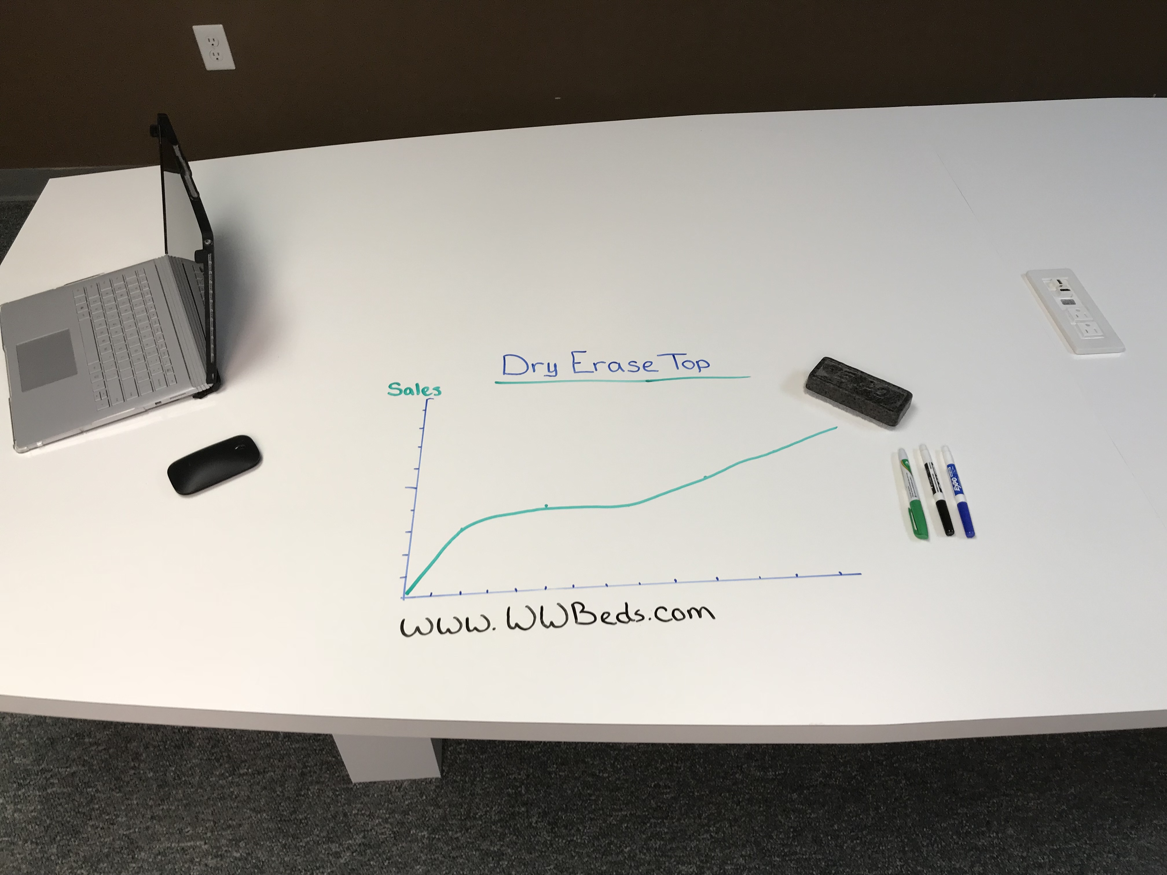 Dry Erase Conference Table Draw 1