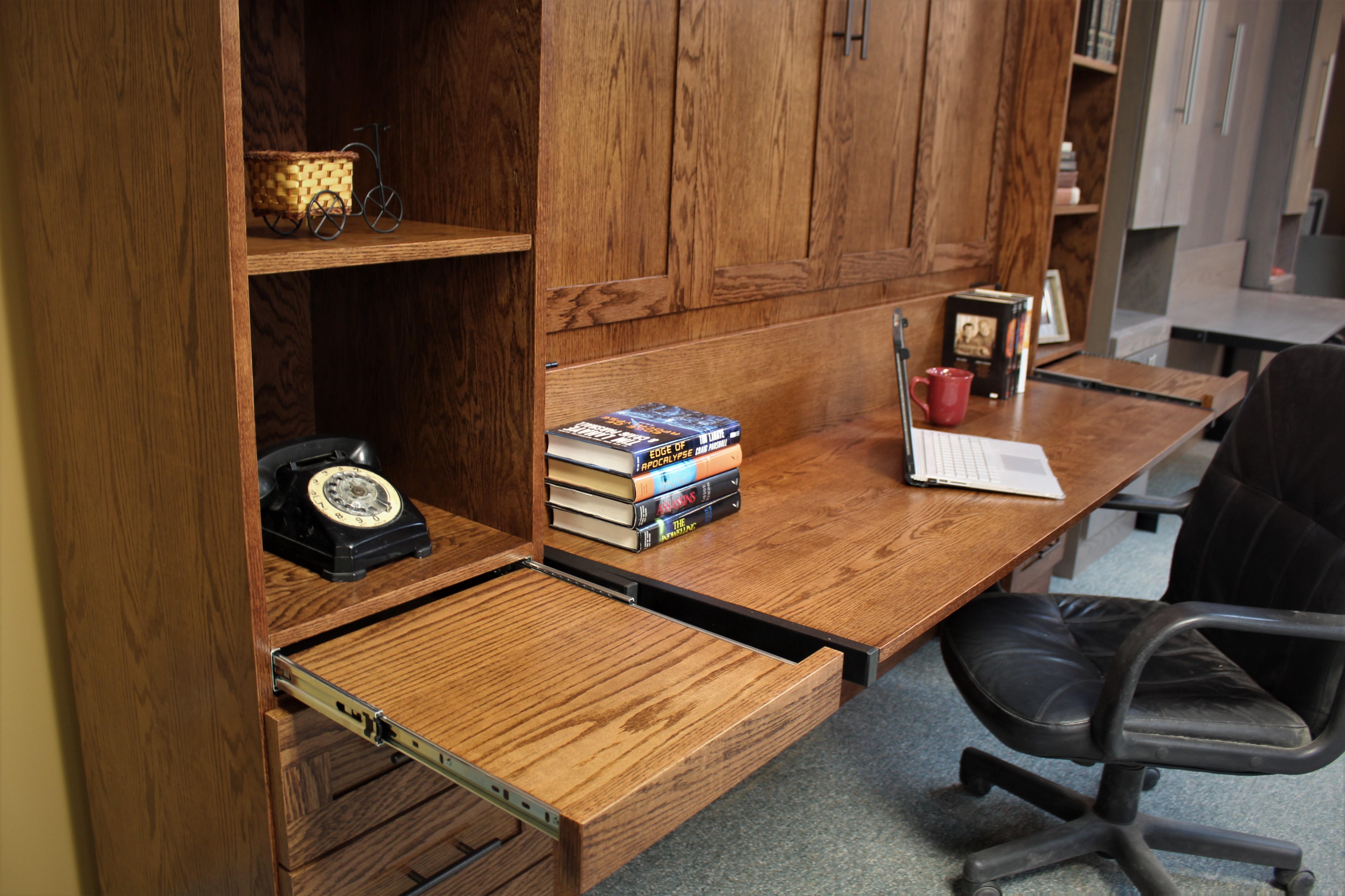 Templeton Red Oak Desk