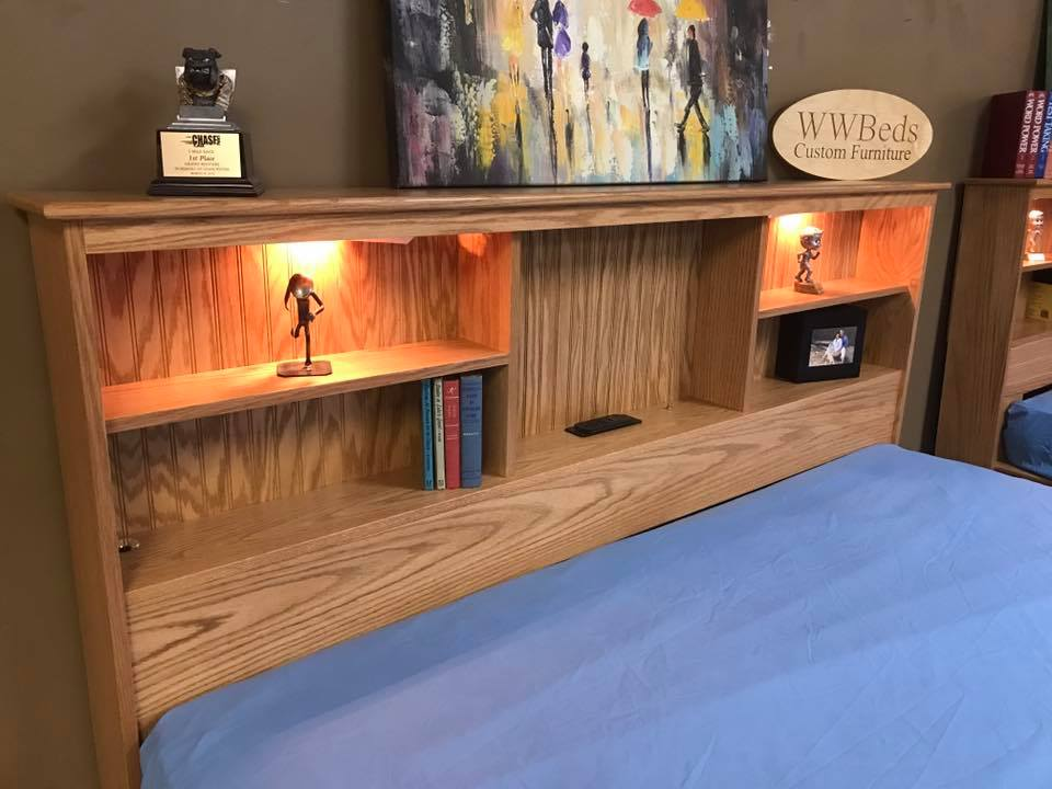 Oak Daybed Headboard