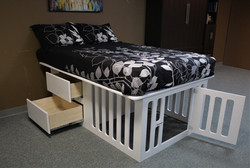 Kennel Bed All Open