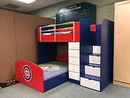 Cubs baseball bunk loft