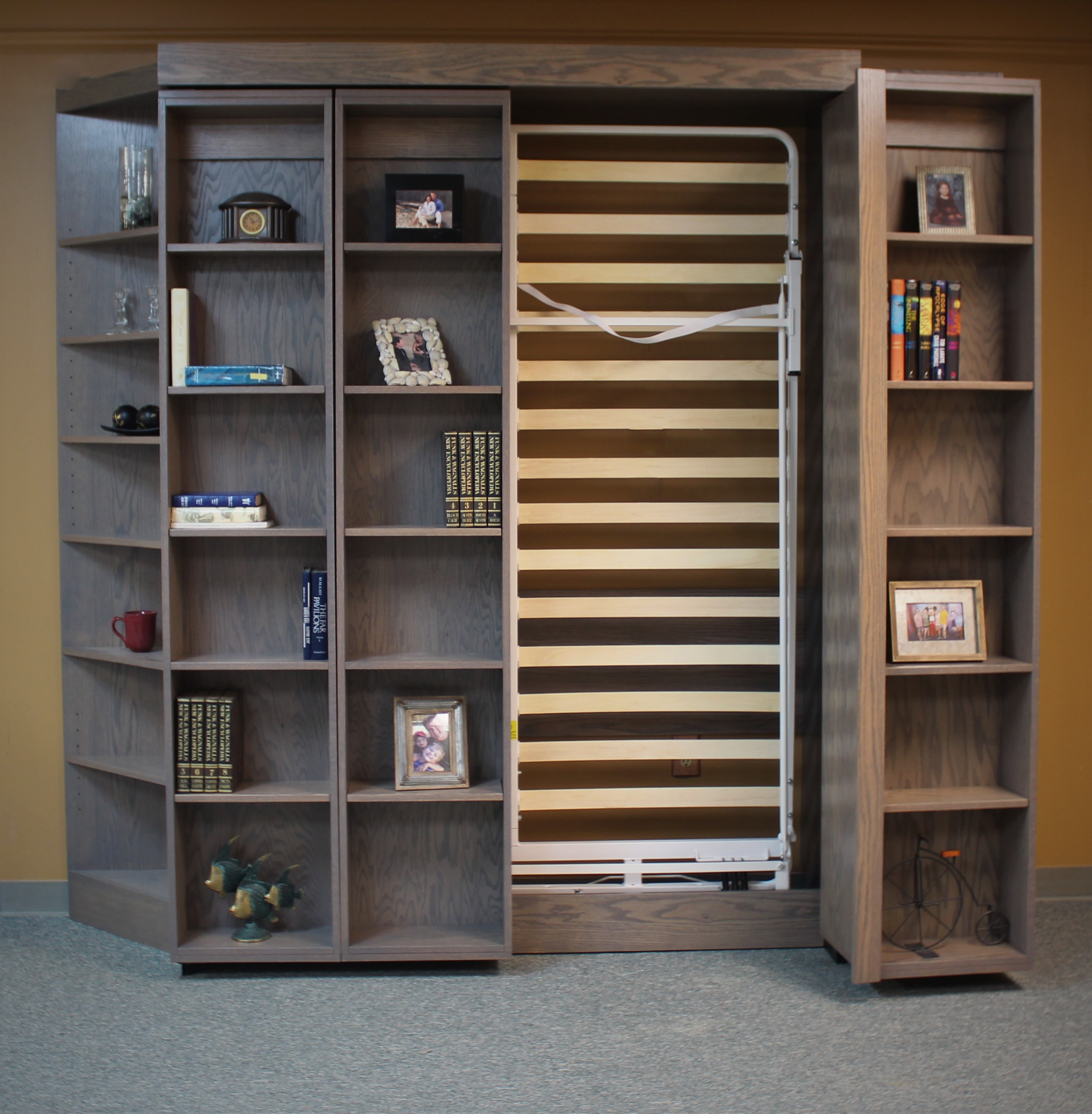 Bookcase Murphy Bed