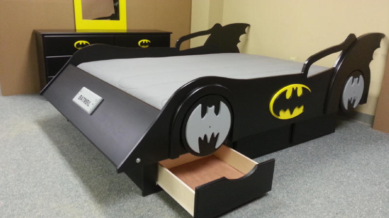 Batmobile with drawers