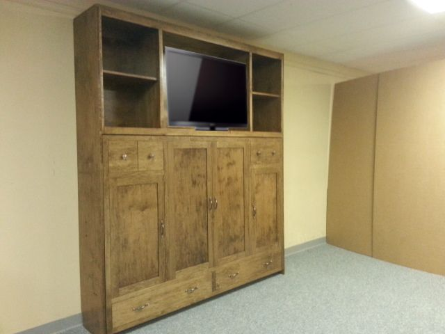 Shaker Horizontal Murphy Bed