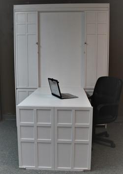 FLW White Desk Front