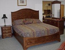 Large panel platform bed
