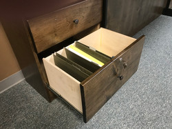 Gothic Arch File Drawer