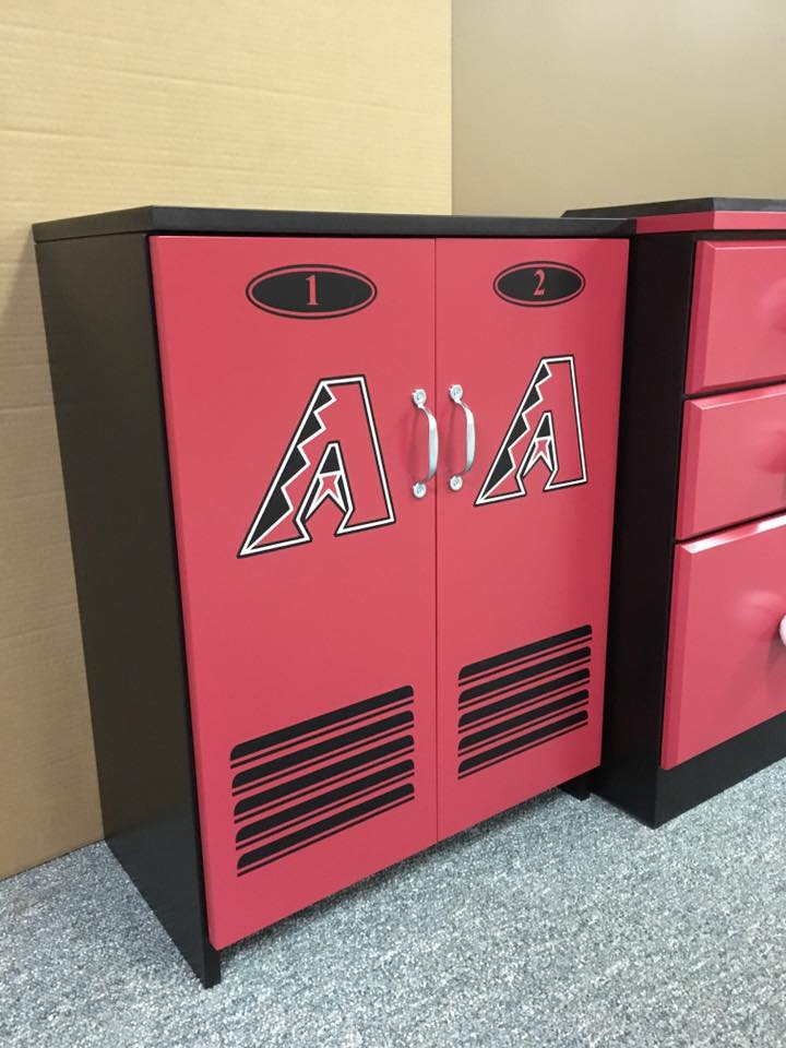 Arizona Diamondbacks Short locker