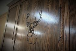 Murphy #1223-0120 Deer Carving Oak
