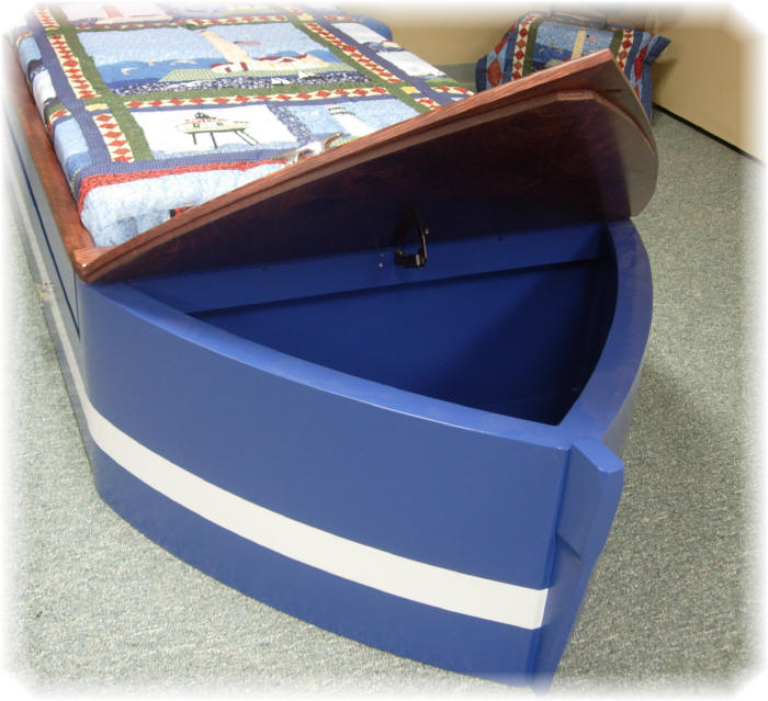 Bow toy box