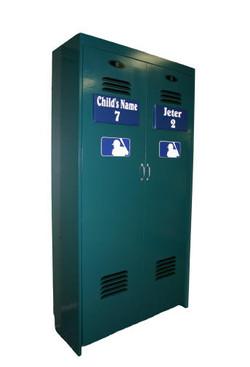 Standard Baseball Locker closed